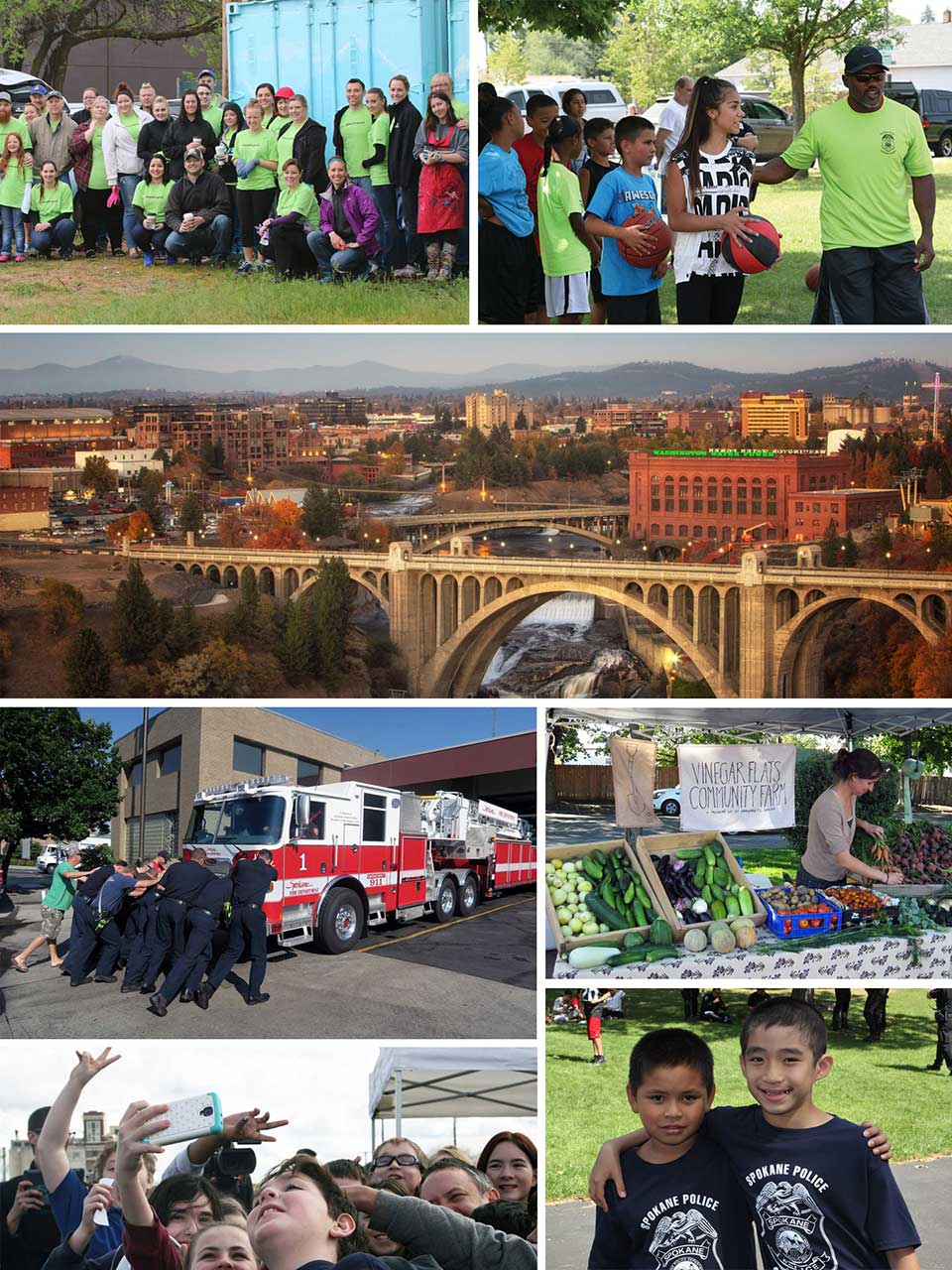Spokane Photos Collage