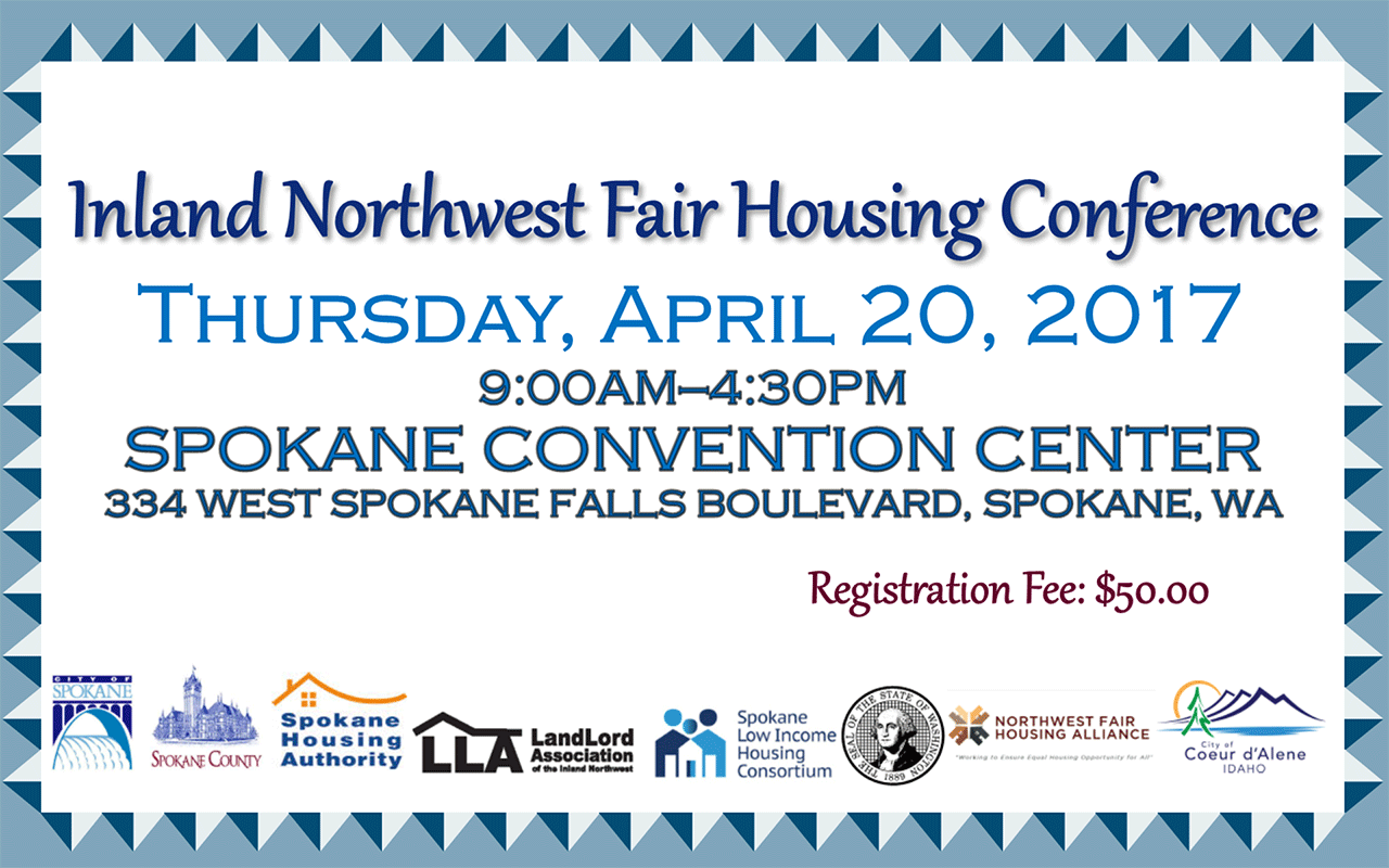 fair housing conference flyer