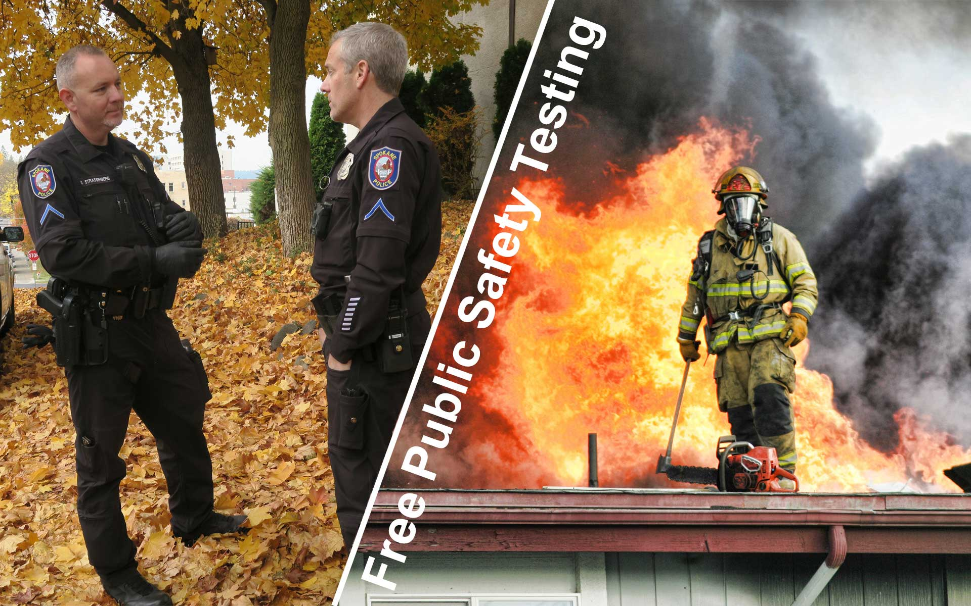 Are You Interested In Becoming A Police Officer Or Firefighter