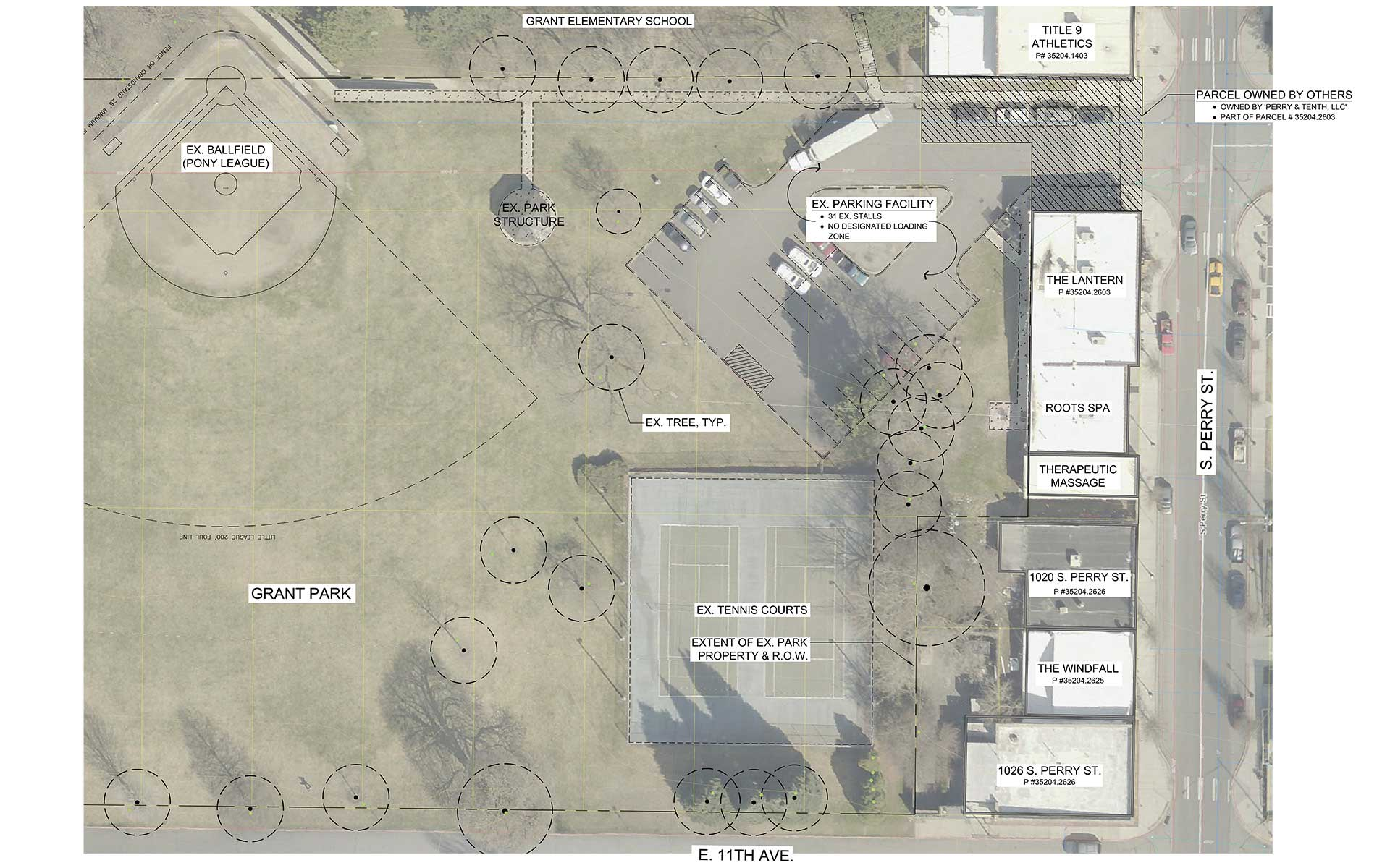 Grant Park Parking Improvements - Concepts & Public Comment