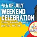 Join us for a 4th of July weekend celebration at Riverfront Park!