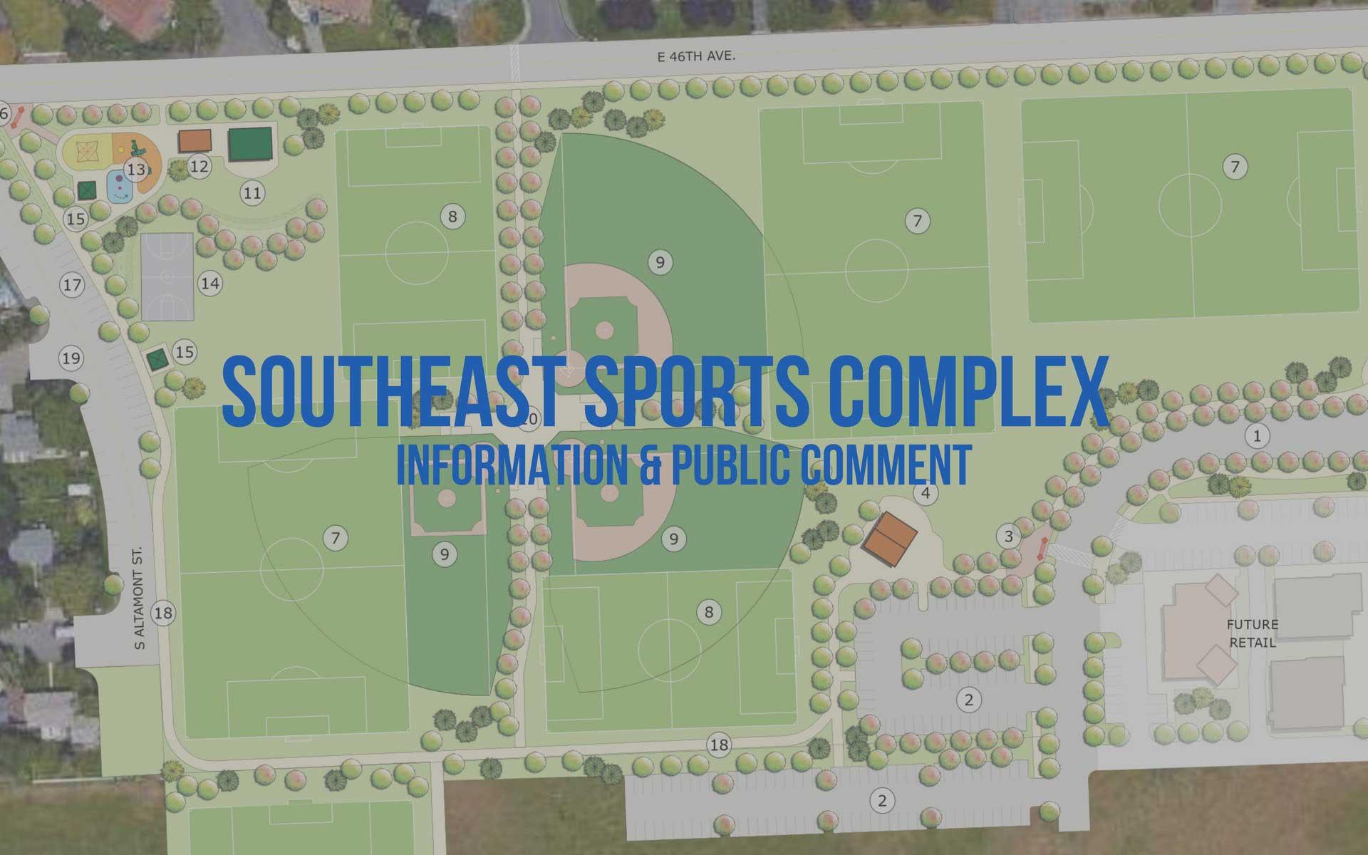 Spokane Complex Fire Map.Se Sports Complex Information Public Comment City Of Spokane