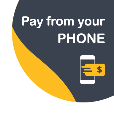 Pay from your phone