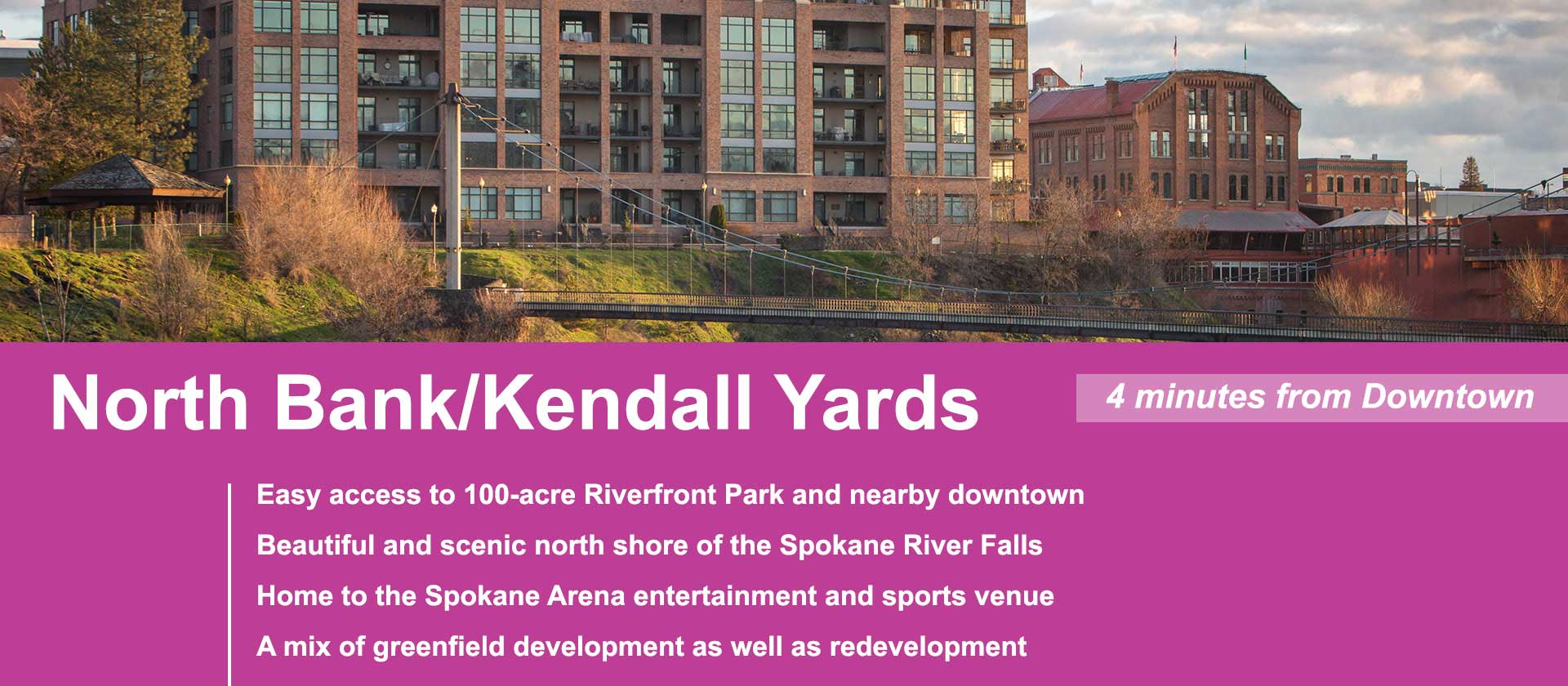 North Bank/Kendall Yards