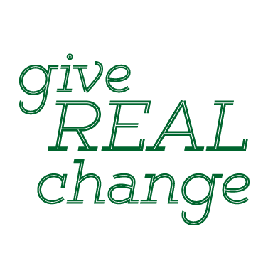 Give Real Change Logo