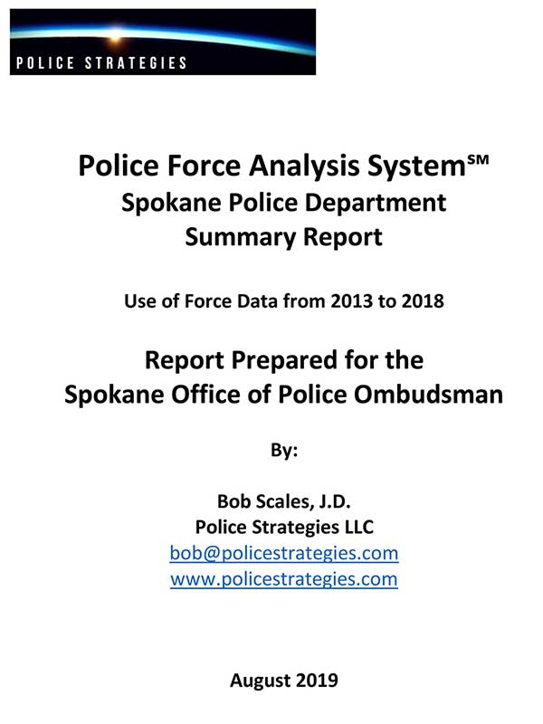 Force Analysis Report Coverpage