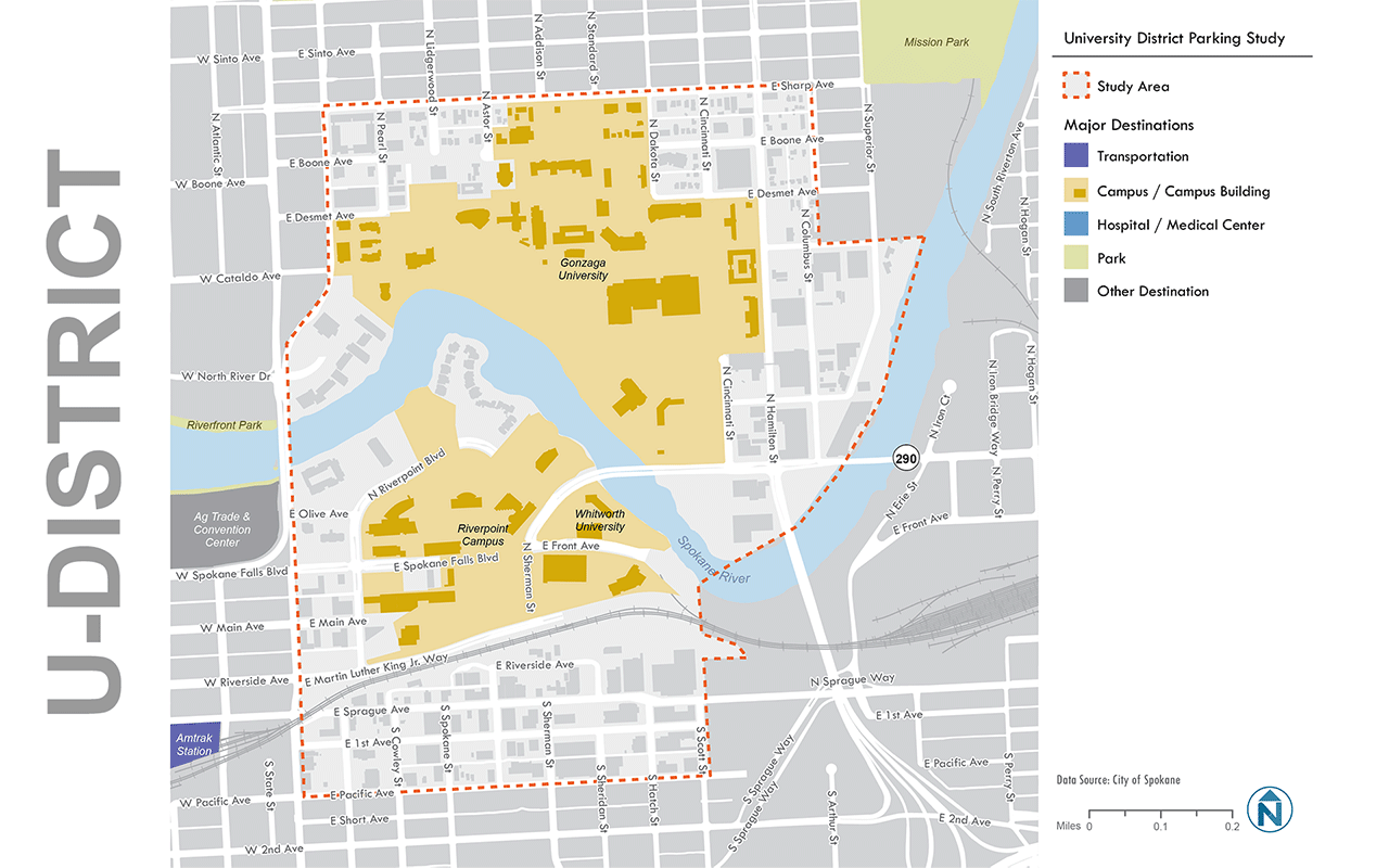 U-District Study Map
