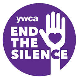YWCA End the Silence Logo