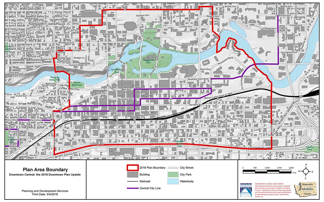 Downtown Plan Area Boundary