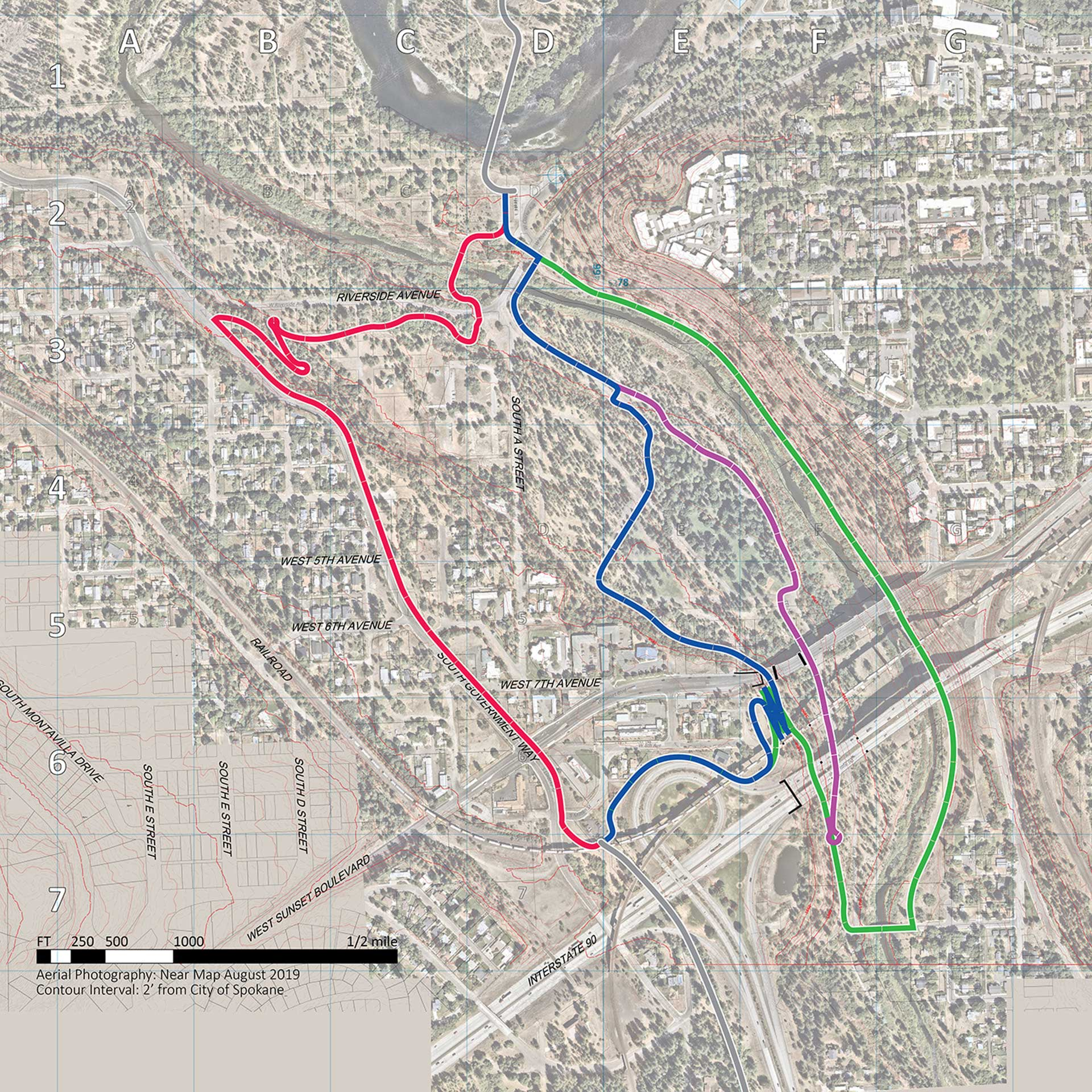Fish Lake Trail Connection Overview Map