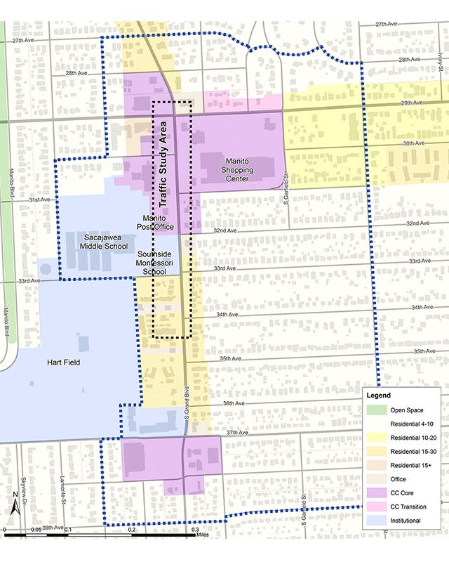 Grand Boulevard Study Area Map