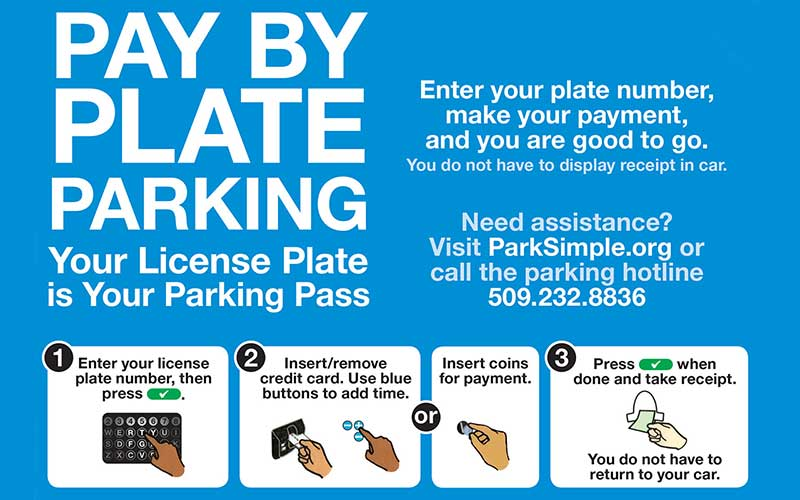 Main Ave Pay by Plate flyer