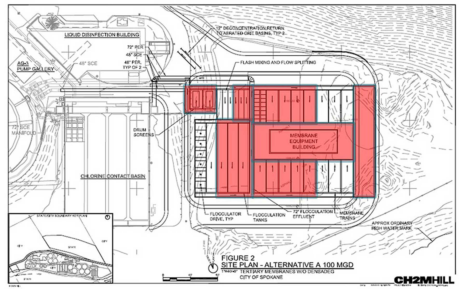Next Level of Treatmen site plan
