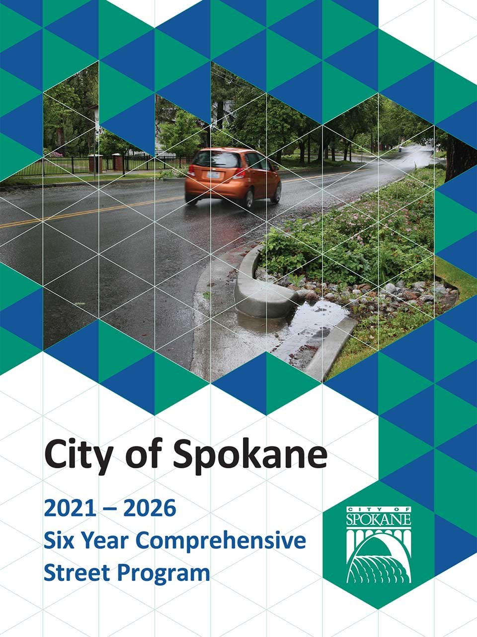 2021-2026 Six Year Comprehensive Street Program Coverpage