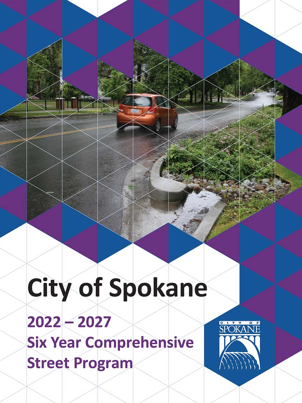 2022-2027 Six Year Comprehensive Street Program Coverpage