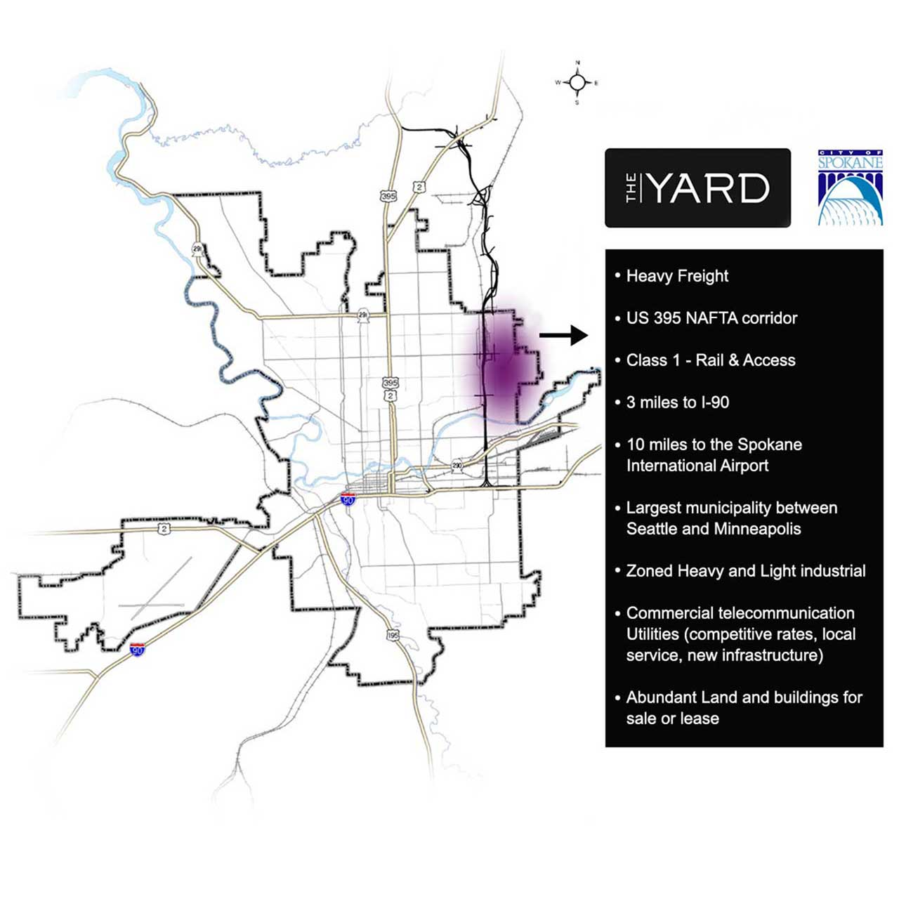 The YARD map