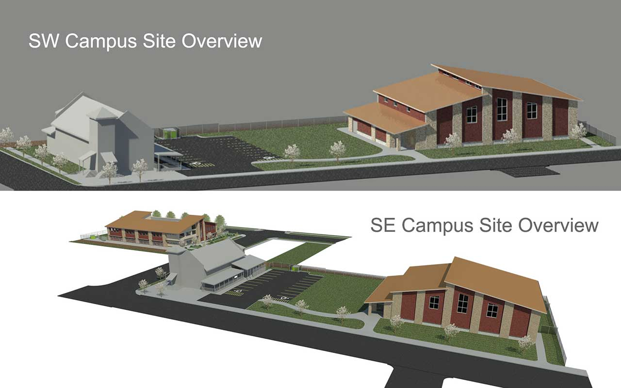 Campus Site overview