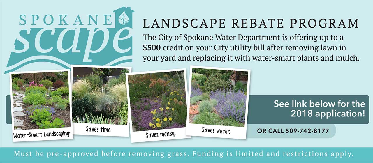 SpokaneScape Rebate Program