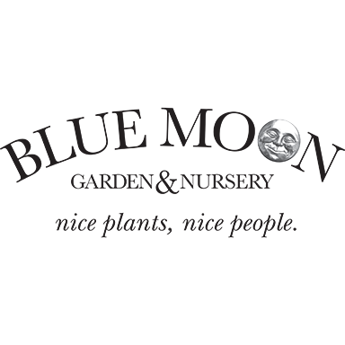 Blue Moon Garden and Nursery Logo