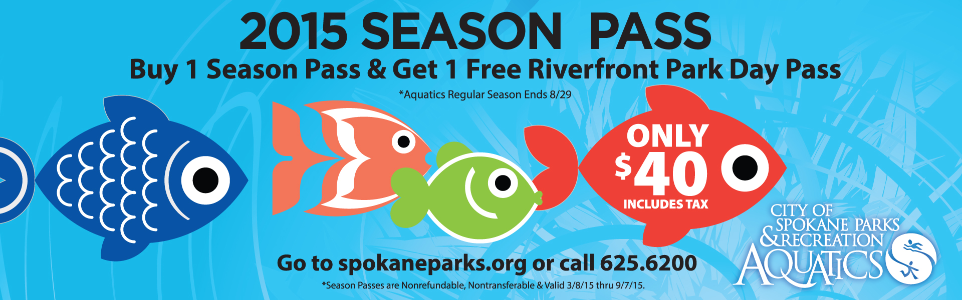 Aquatics Season Pass 2015