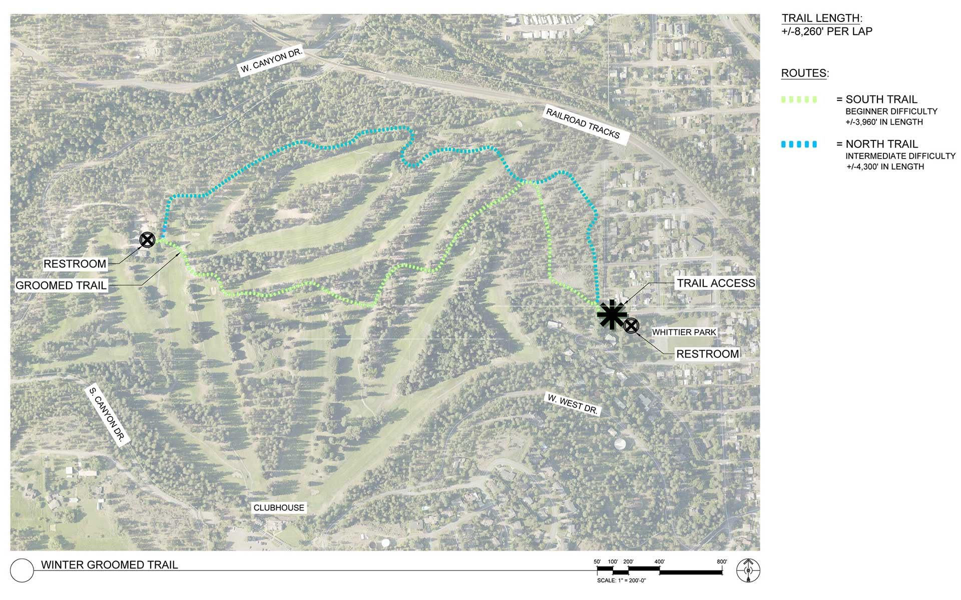 Spokane Complex Fire Map.Cross Country Ski Fat Bike Trails City Of Spokane Washington