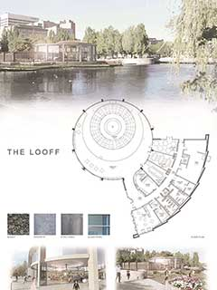 Looff Carrousel Floor Plan Board