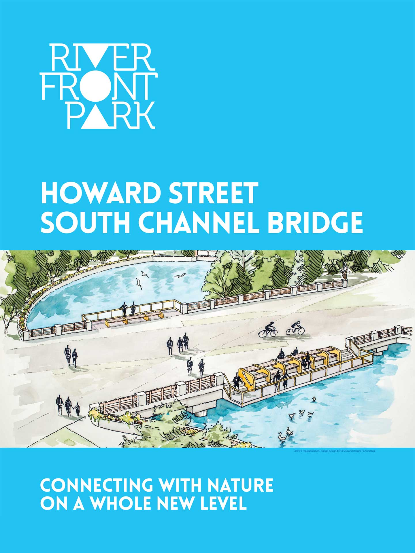 Howard Street South Channel Bridge Banner