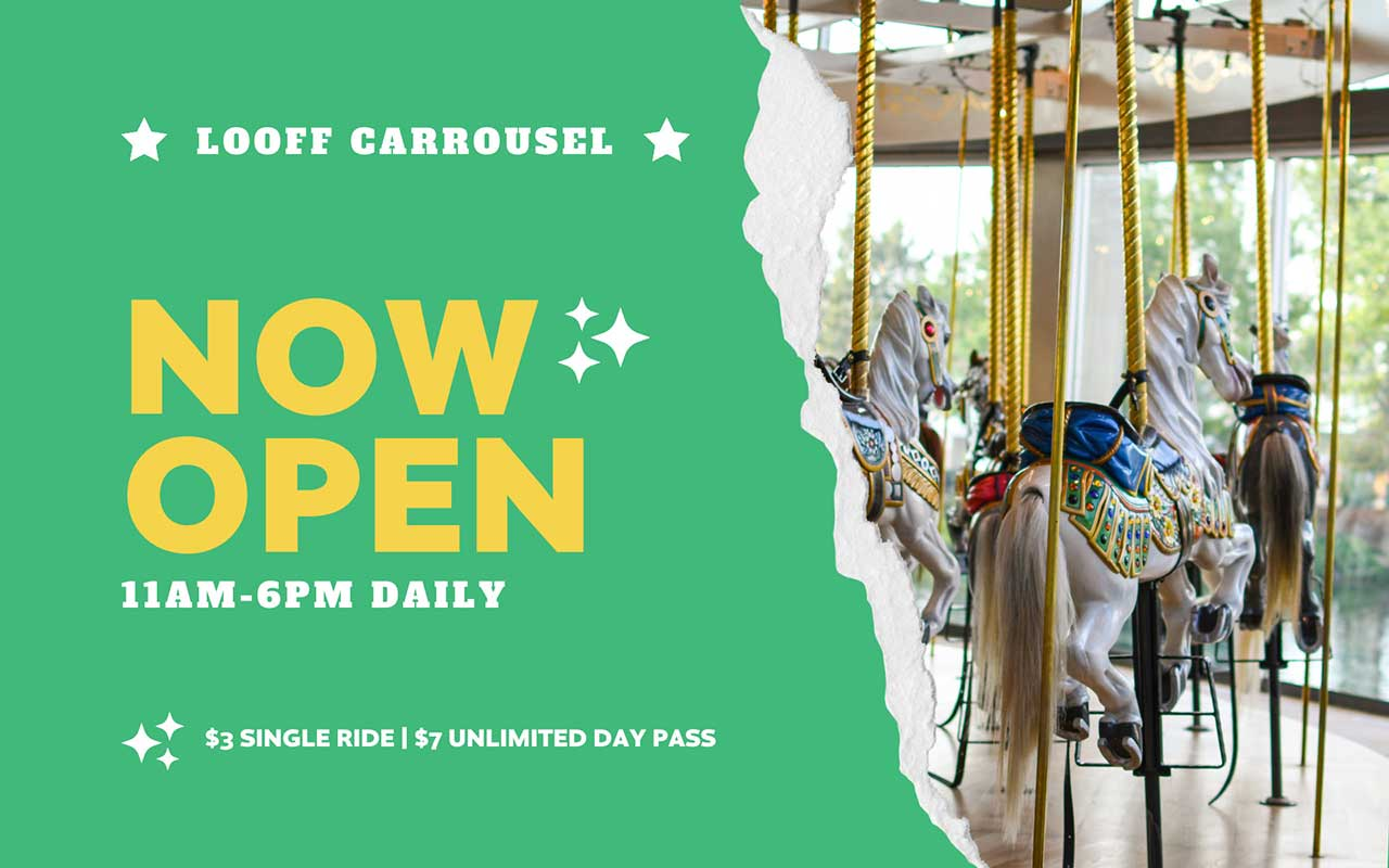Looff Carrousel Now Open