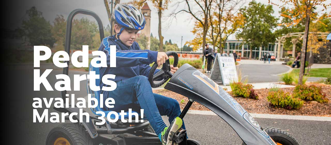 Pedal Karts Available March 30