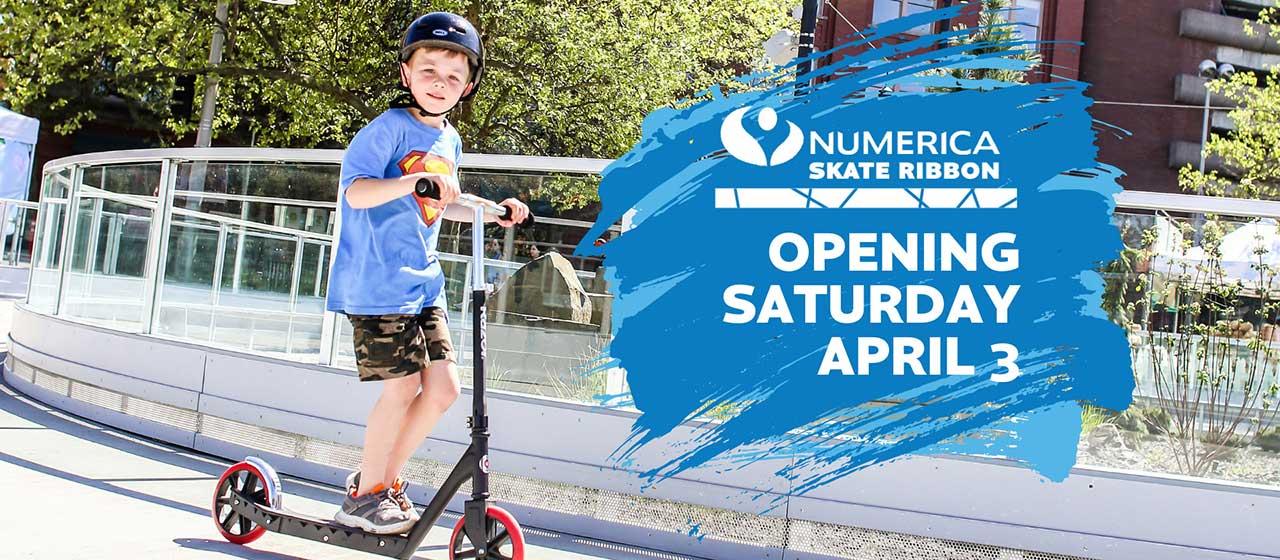 Numberica Skate Ribbon Opening April 3