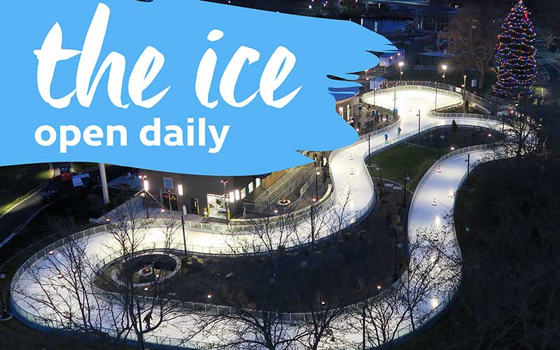 The Ice open daily