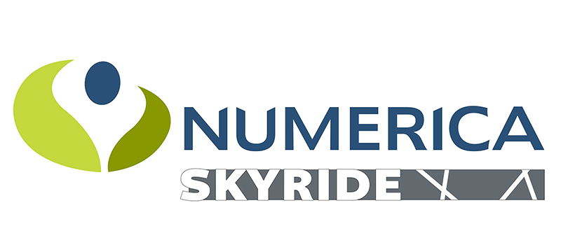 Numberica Skyride Sign