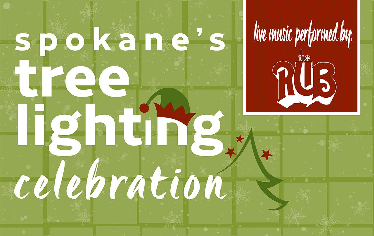 Tree Lighting Celebration City Of Spokane Washington