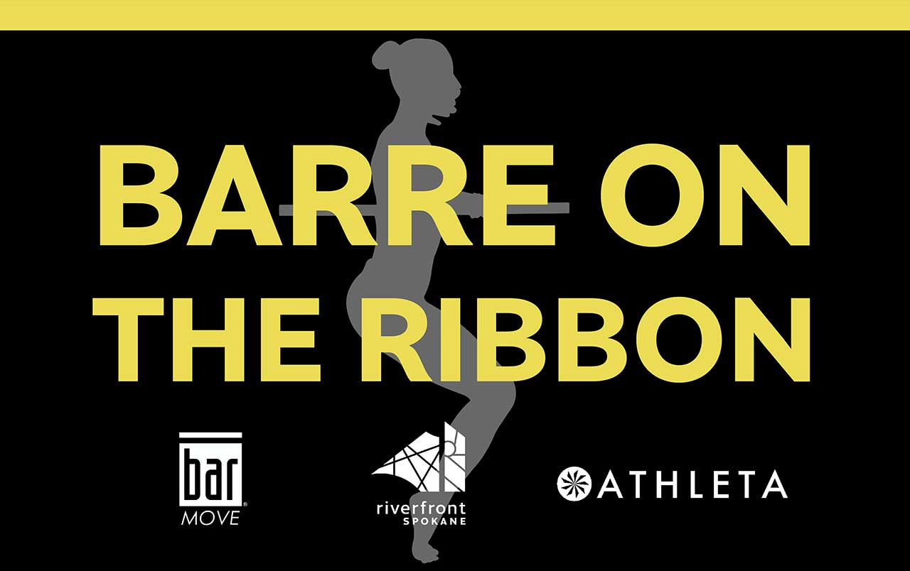 Barre in the Ribbon