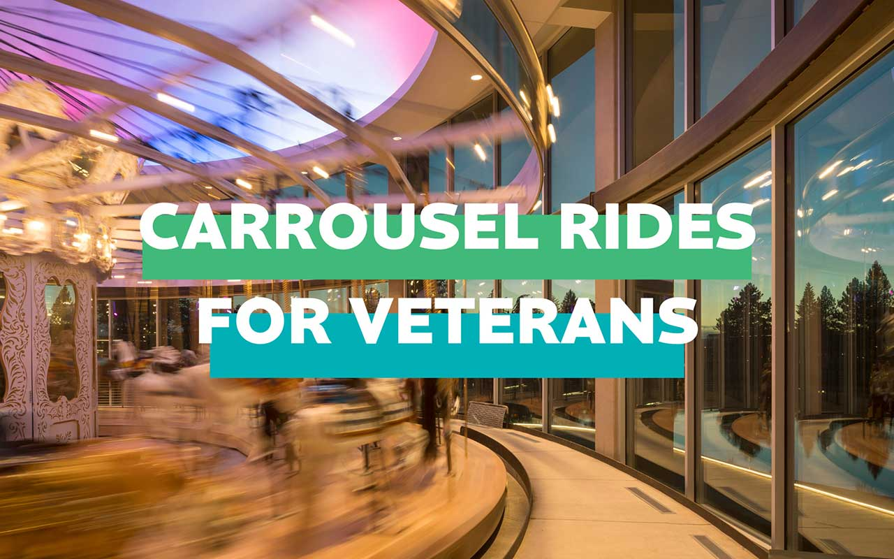 Carrousel Ride for Veterans