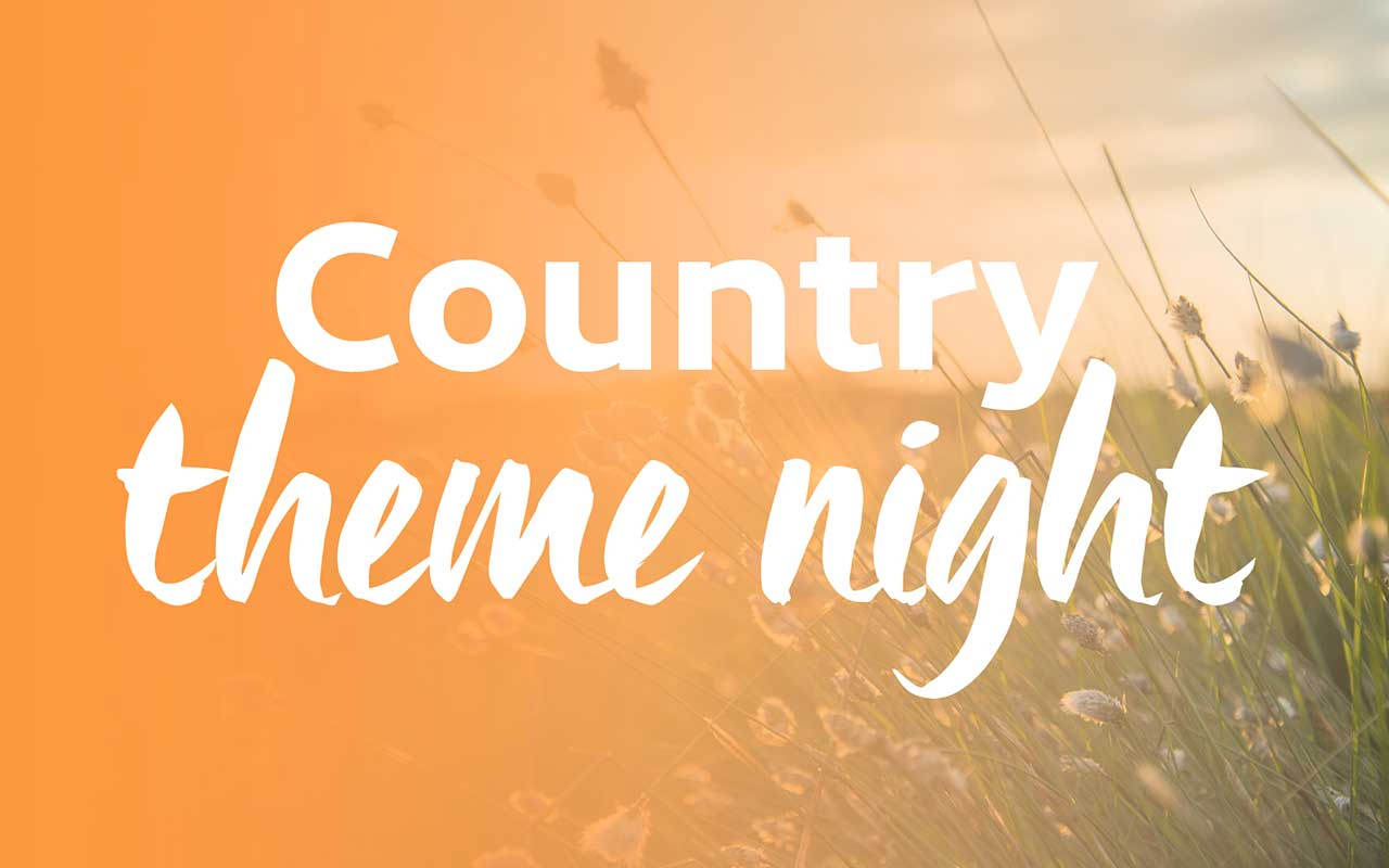 Country Theme Night