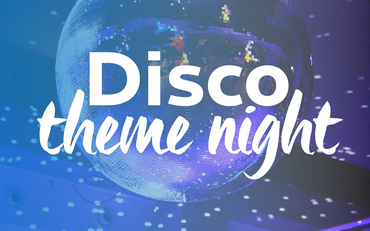 Disco Theme Night