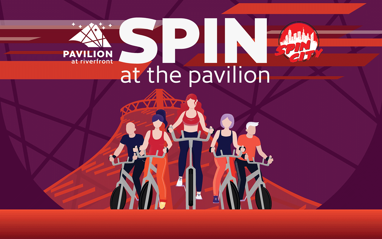 Spin Classes at the Pavilion
