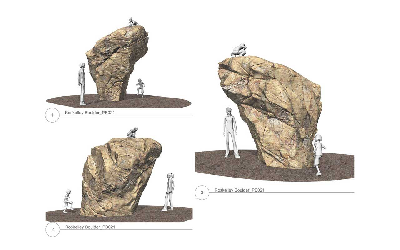 Roskelley Performance Climbing Boulder