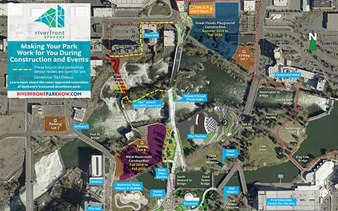 Redevelopment Construction Map