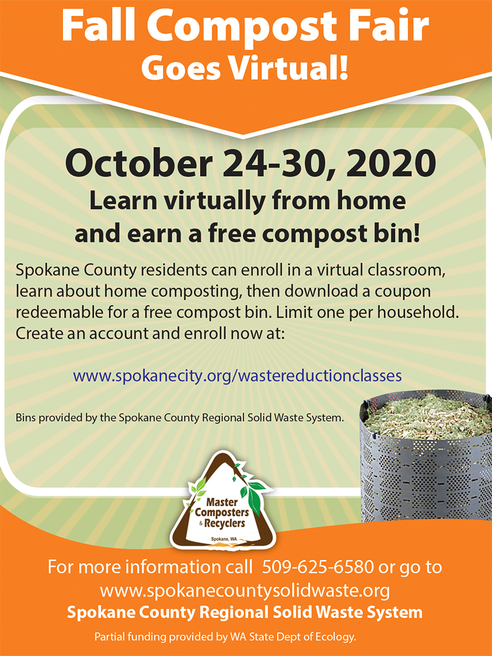 2020 Fall Compost Fair Poster