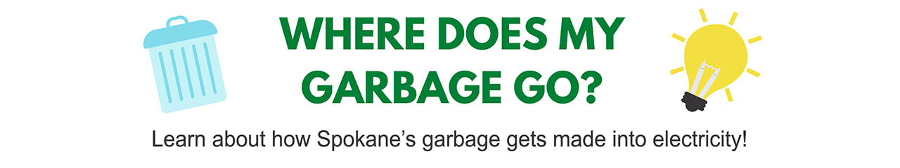 Where does my garbage go graphic