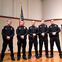 Five new SPD recruits graduate from Basic Law Enforcement Academy