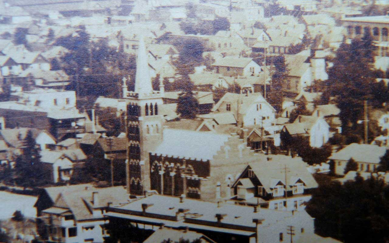 1911 Historic Spokane Photo Closeup 2