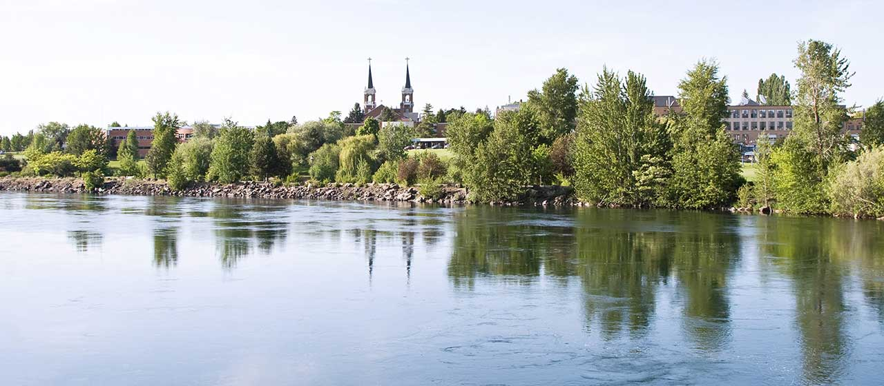 Spokane River by Gonzaga