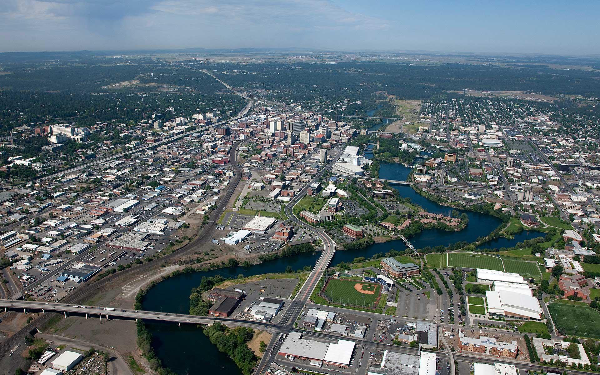 about spokane city of spokane washington