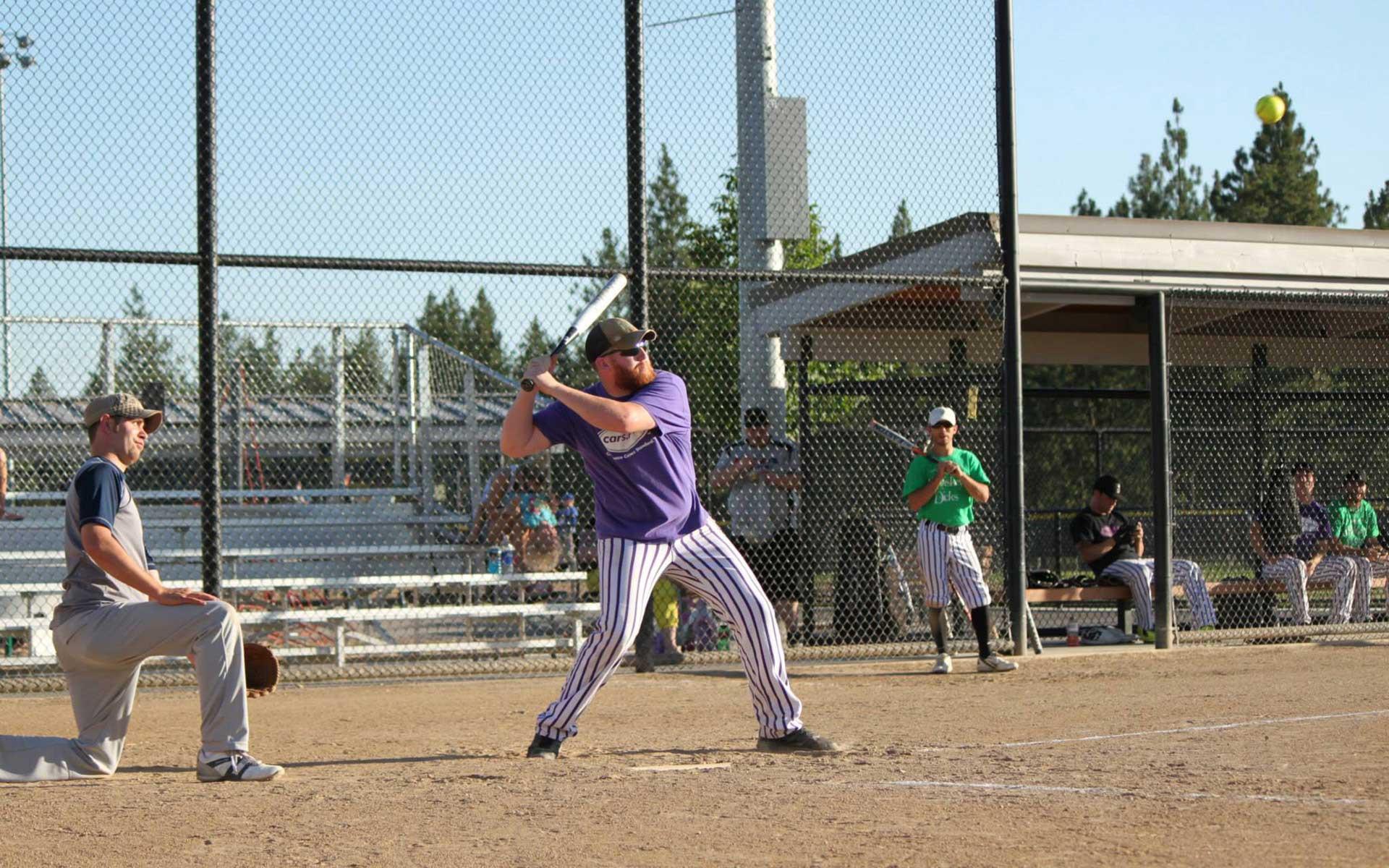 adult softball leagues mn