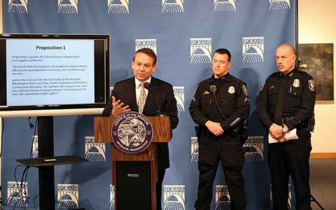 Police Oversight Press Conference