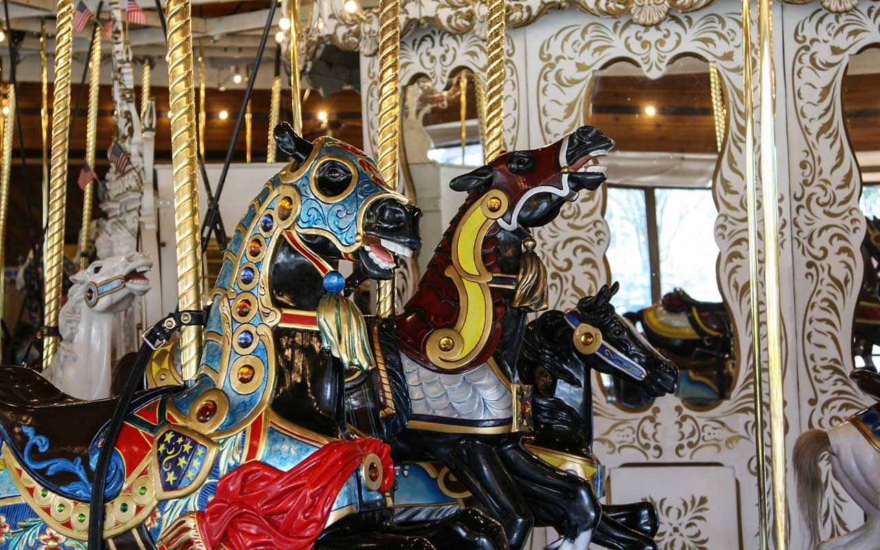 Looff Carousel horse