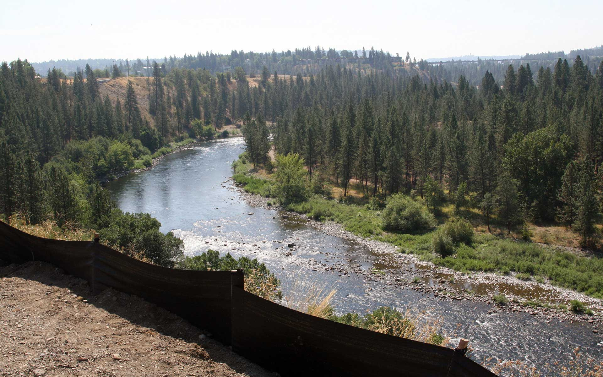 New section of centennial trail offers spectacular views city of the spokane centennial trail also connects to the north idaho centennial trail connecting the spokane and coeur dalene communities with more than 60 miles publicscrutiny Gallery